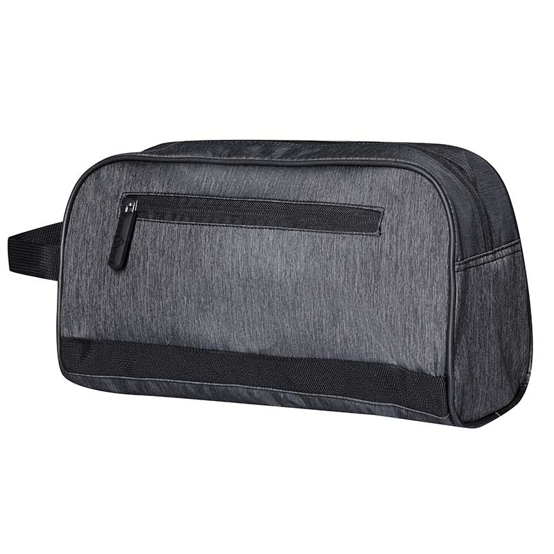 BAGS-2-GO WASHTASCHE modern HAVANNA Retro Kosmetik BS-386 Mainstream anthracite