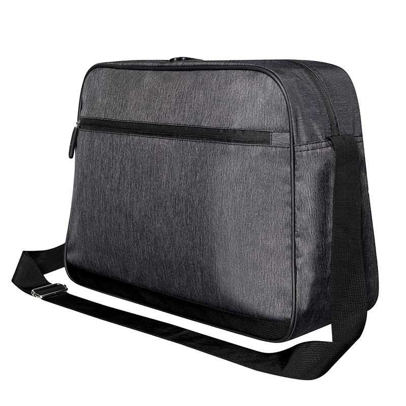 BAGS-2-GO TASCHE regular SANTIAGO Retro Laptop Tasche BS-385 Streetwear anthracite