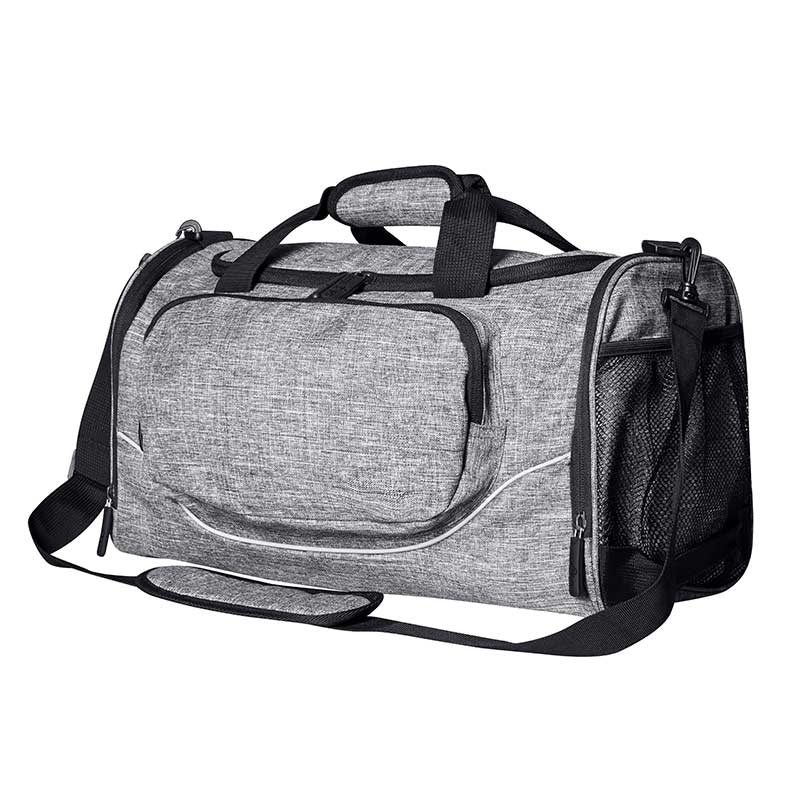 BAGS-2-GO TASCHE regular BOSTON Sport BS-16052 Gym Wear grey-melange