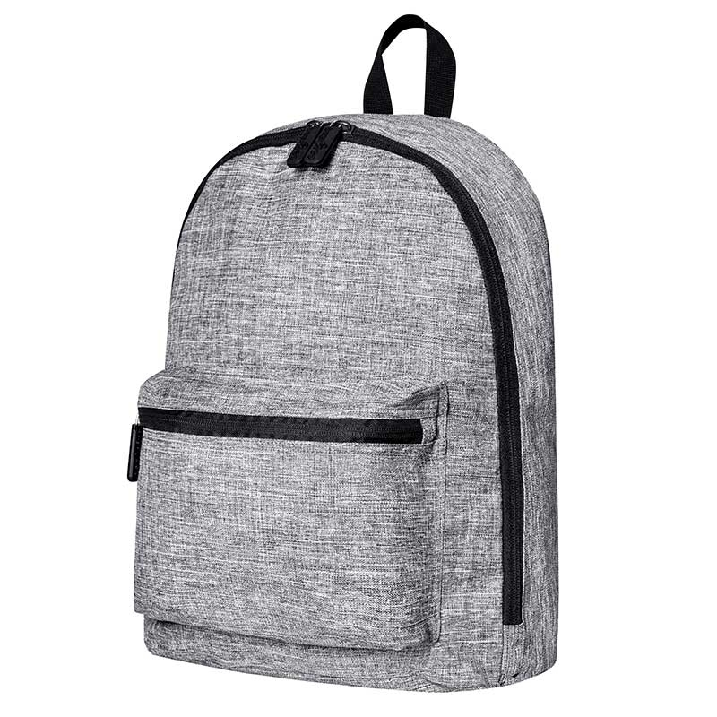 BAGS-2-GO BACKPACK regular MANHATTAN Alltag Tasche BS-15273 Streetwear grey-melange