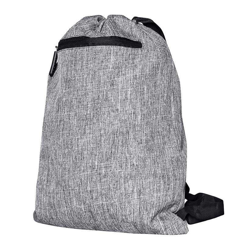 BAGS-2-GO BACKPACK regular MIAMI Kordel Tasche BS-15391 Strand Wear grey-melange