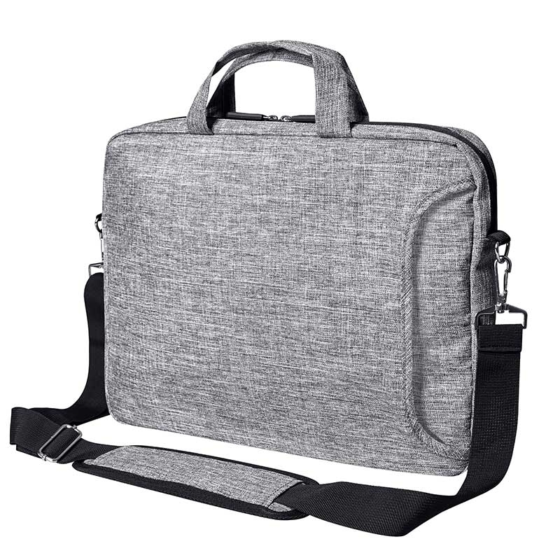 BAGS-2-GO TASCHE regular SAN FRANCISCO Laptop BS-15382 Buero grey-melange