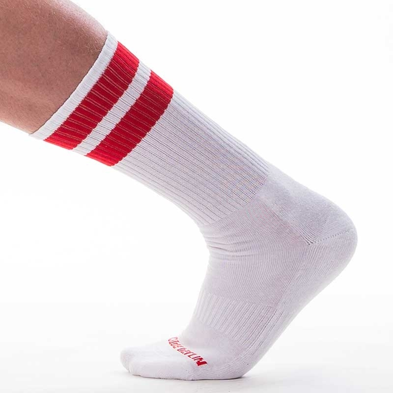 BARCODE Berlin STOCKING gym comfort 91366 Street Wear socks white