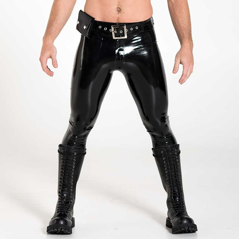 MISTER B GUMMI HOSEN hot FETISCH SUPER TIGHT JEANS Latex MB-364010 Club Wear black