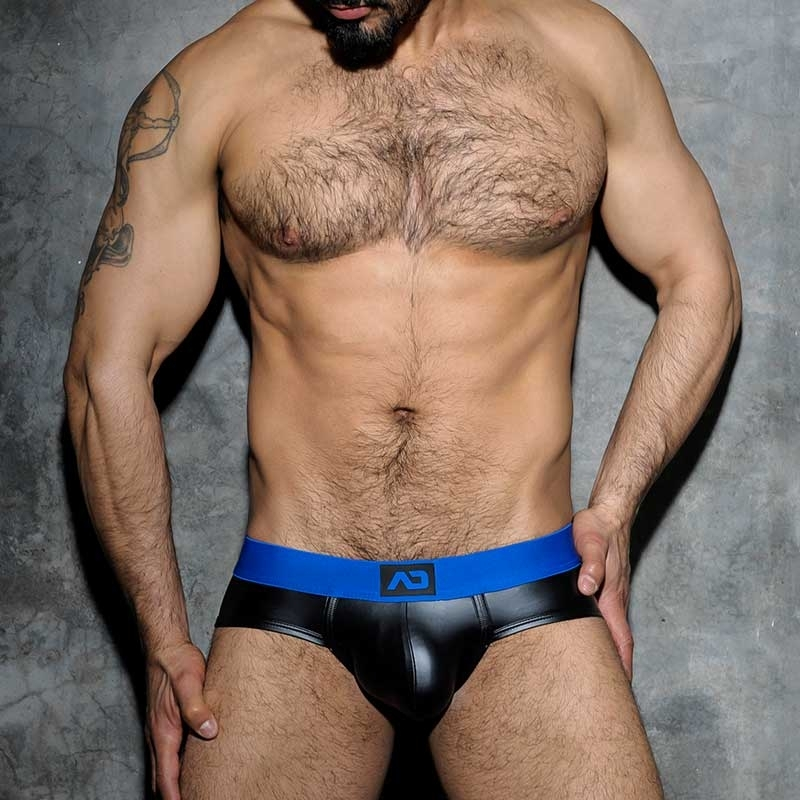 ADDICTED SLIP hot FETISCH JOSH Wet Look ADF48 Club Wear black-royal