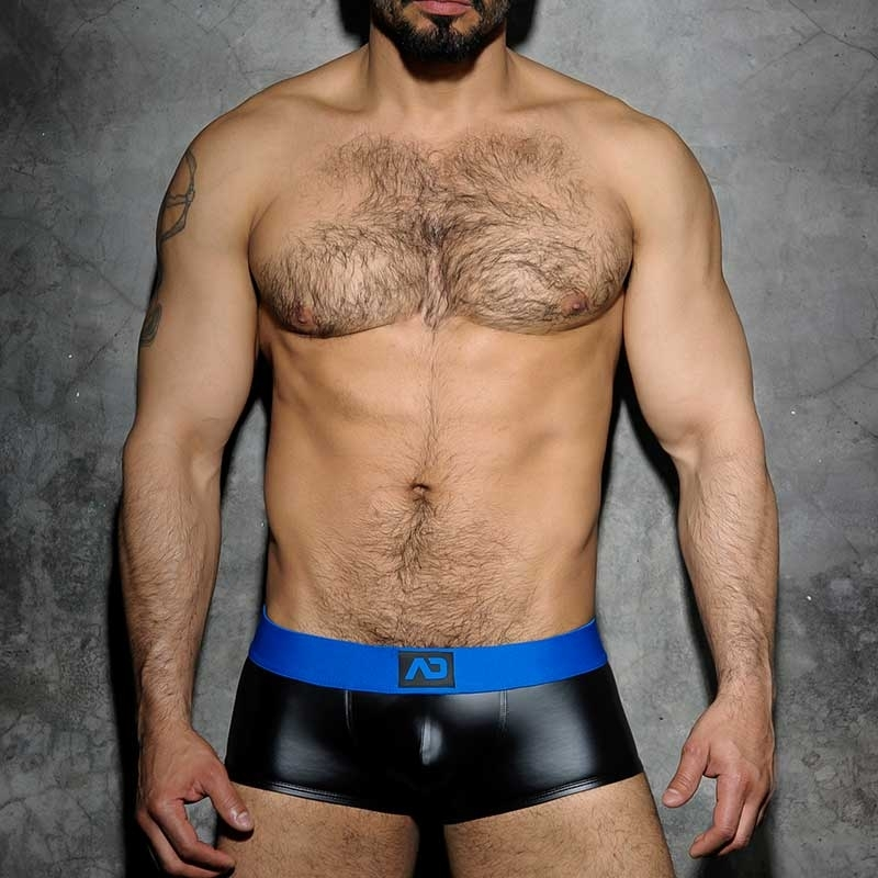 ADDICTED PANT hot FETISCH JOSH Wet Look ADF49 Club Wear black-royal