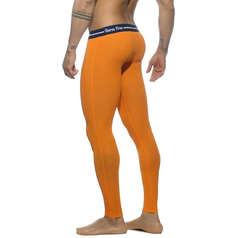 ADDICTED LEGGINGS mesh AD538 Born Free Neon orange