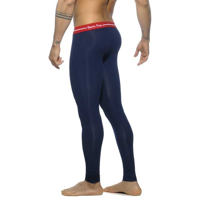 ADDICTED LEGGINGS AD538 Born Free in dark blue