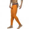 ADDICTED LEGGINGS modern BACKLESS LONG JOHN Neon Sport AD539 Club Wear orange