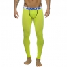 ADDICTED LEGGINGS modern BACKLESS LONG JOHN Neon Sport AD539 Club Wear neon-green