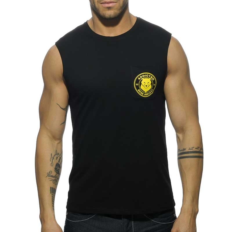 ADDICTED TANK TOP AD571 Bear Society