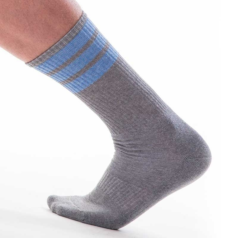BARCODE Berlin SOCKS comfort ME-TIME Sport 91367 Streetwear grey-blue