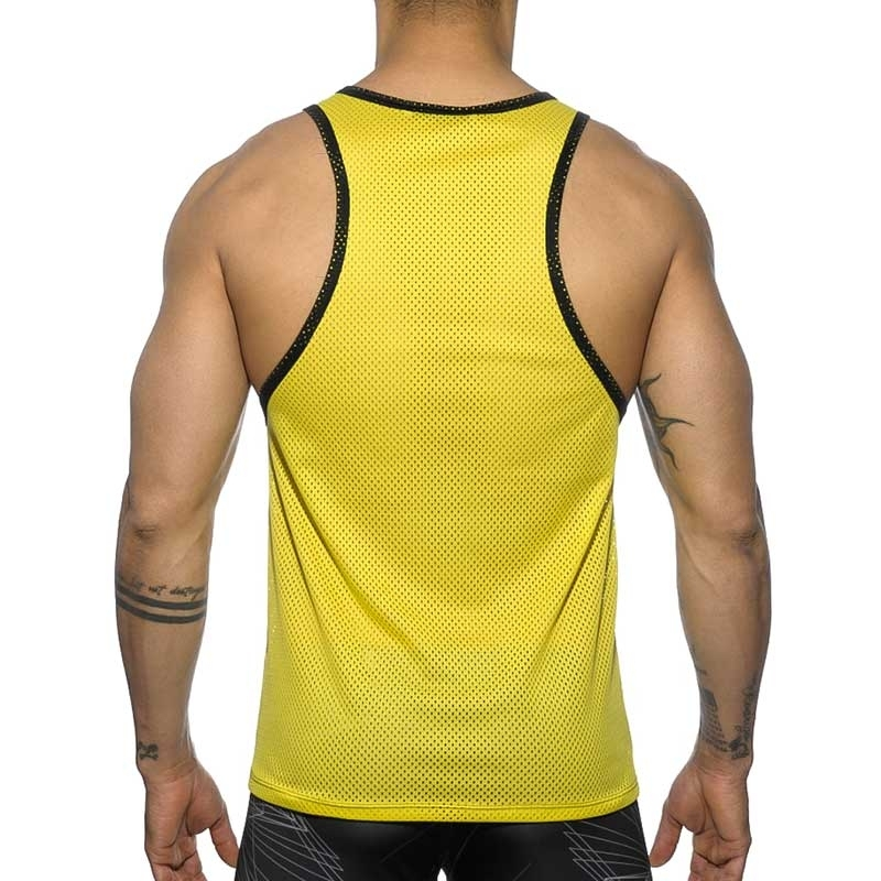 ADDICTED TANK TOP AD558 abstract mesh