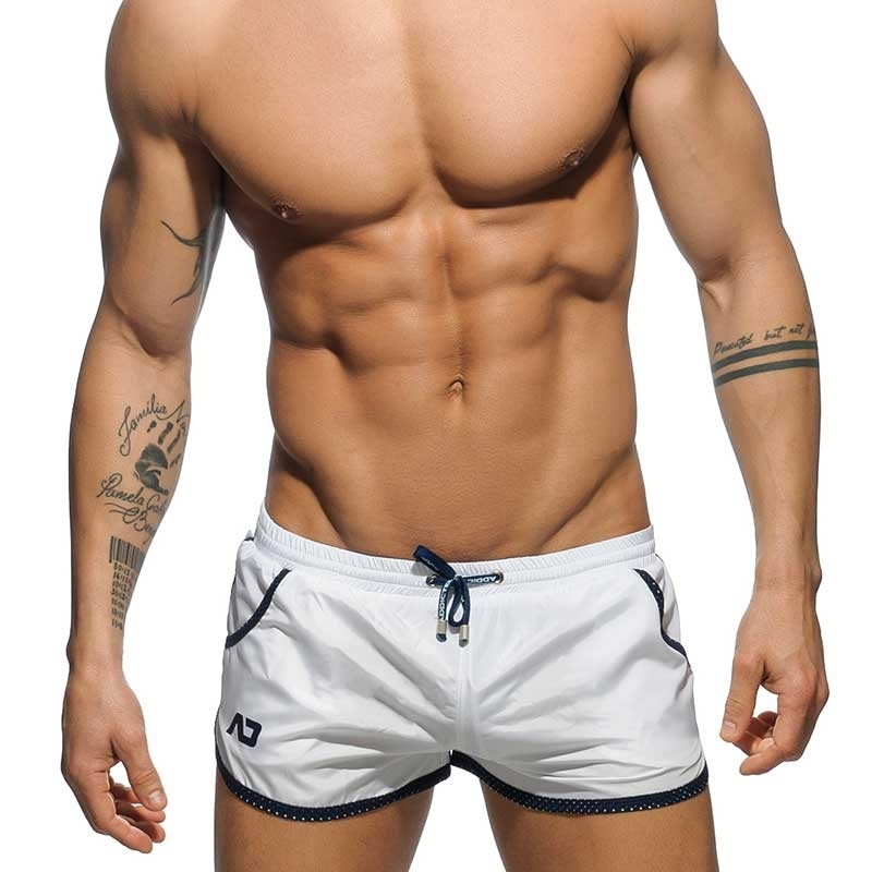 ADDICTED SWIM SHORTS ADS112 mesh piping