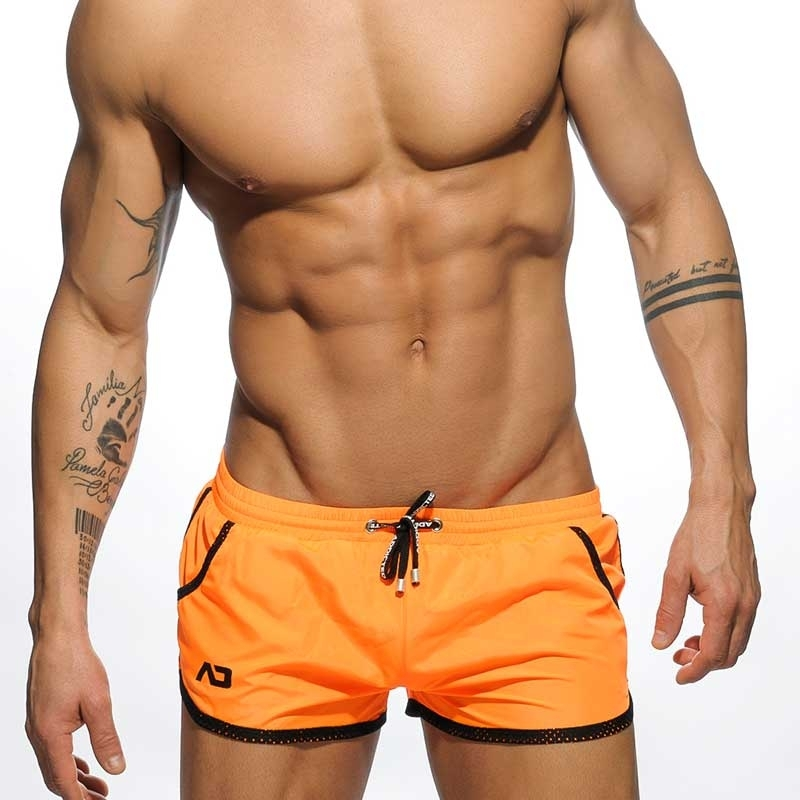 ADDICTED BADESHORTS ADS112 casual Beach in orange