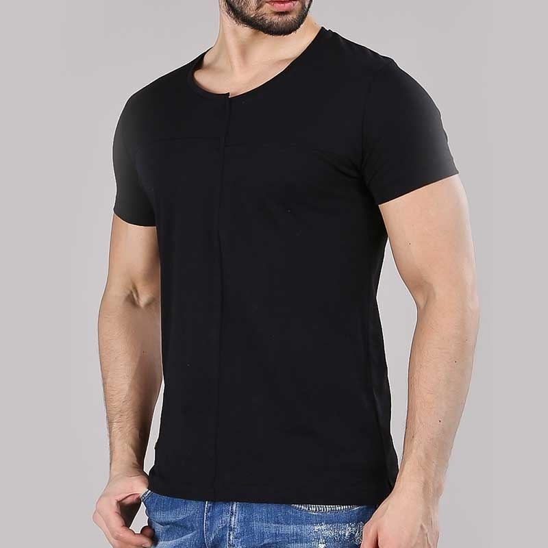 RED BRIDGE T-SHIRT modern DESIGNER HAYDEN Alltag M1161 Mainstream black