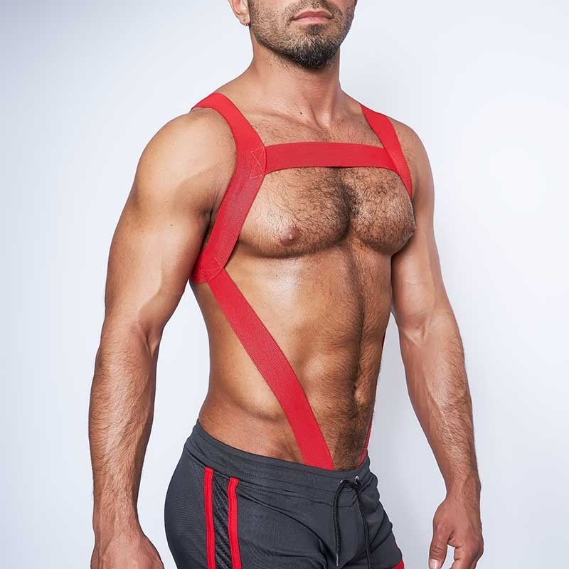 MISTER B HARNESS 82053 Flaming Club Wear