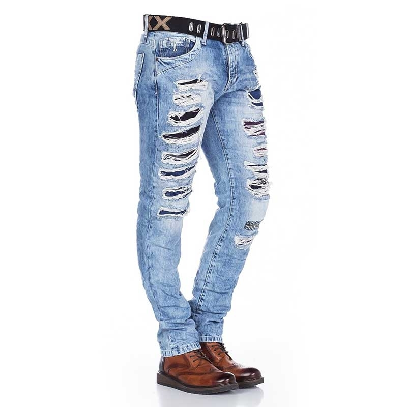 CIPO and BAXX  JEANS CD131 destroyed style