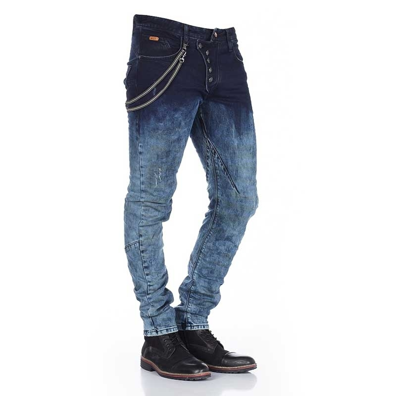 CIPO and BAXX JEANS CD155 with color gradient
