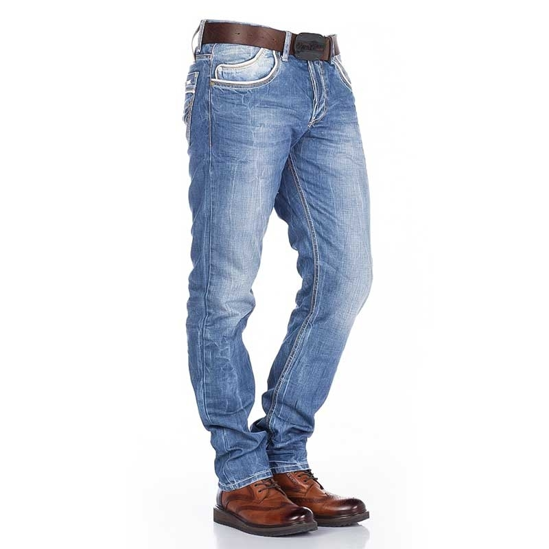CIPO and BAXX JEANSHOSE C-0595 Basic Denim Design