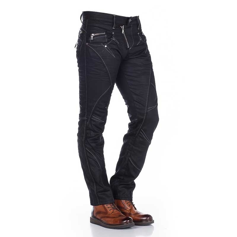 CIPO and BAXX  JEANS C-0812 modern style
