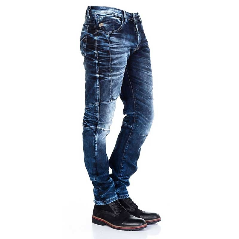 CIPO and BAXX JEANSHOSE CD286 Falten Effekt
