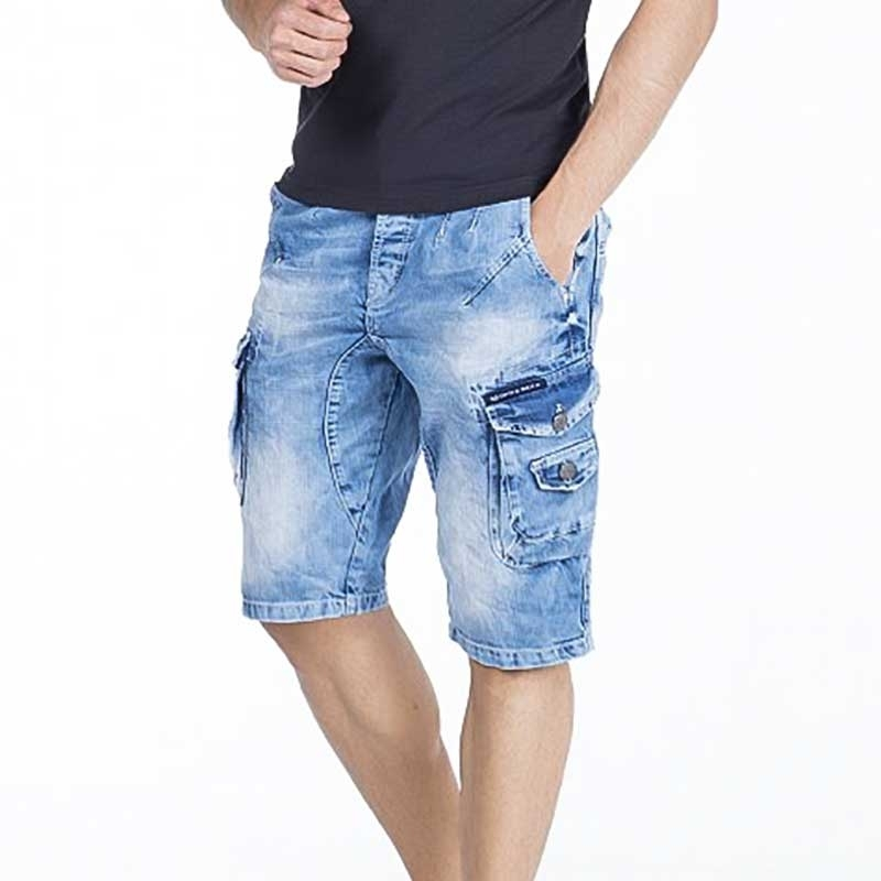 CIPO and BAXX Jeans SHORTS CK158 Verwaschen Look