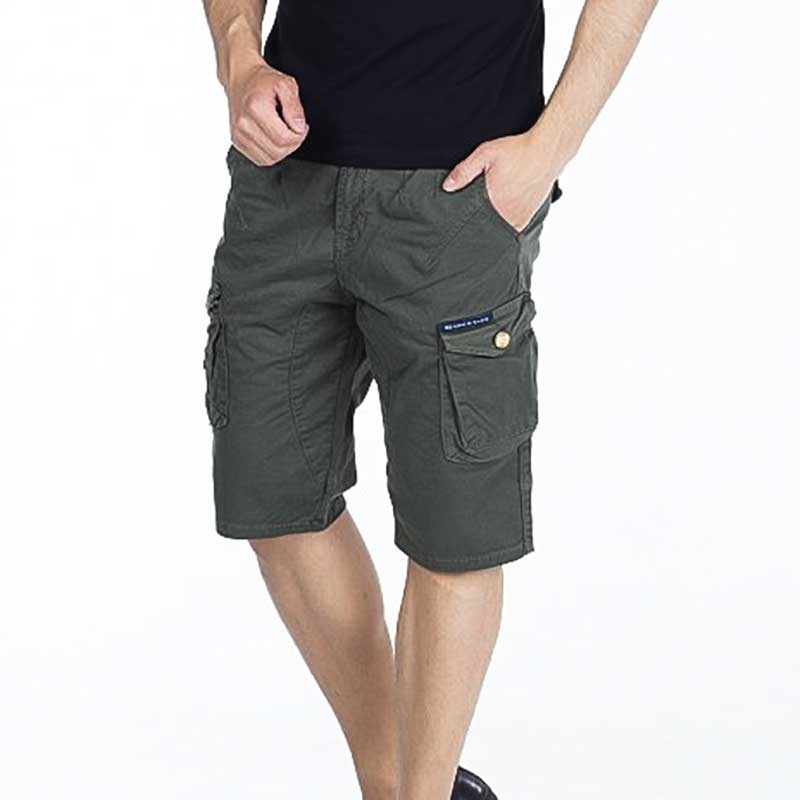 CIPO and BAXX CAPRI- SHORTS comfort fit 6-POCKET RA Cargo CK161 Mainstream khaki