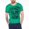 CIPO and BAXX T-SHIRT regular LIVE FAST Used Look CT316 Streetwear green