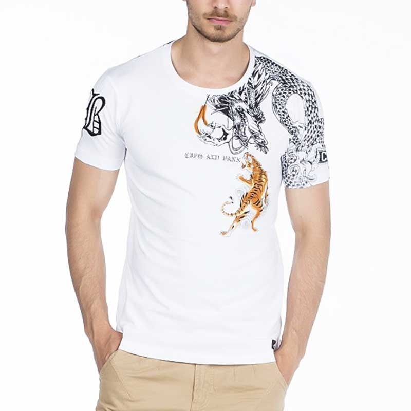 CIPO and BAXX T-SHIRT CT342 with dragon print