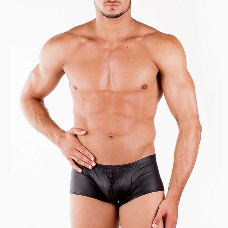 WAGNER Berlin PANT hot 2-ZIPP COHEN Wet-Look WAB-172055 Fetish Wear black