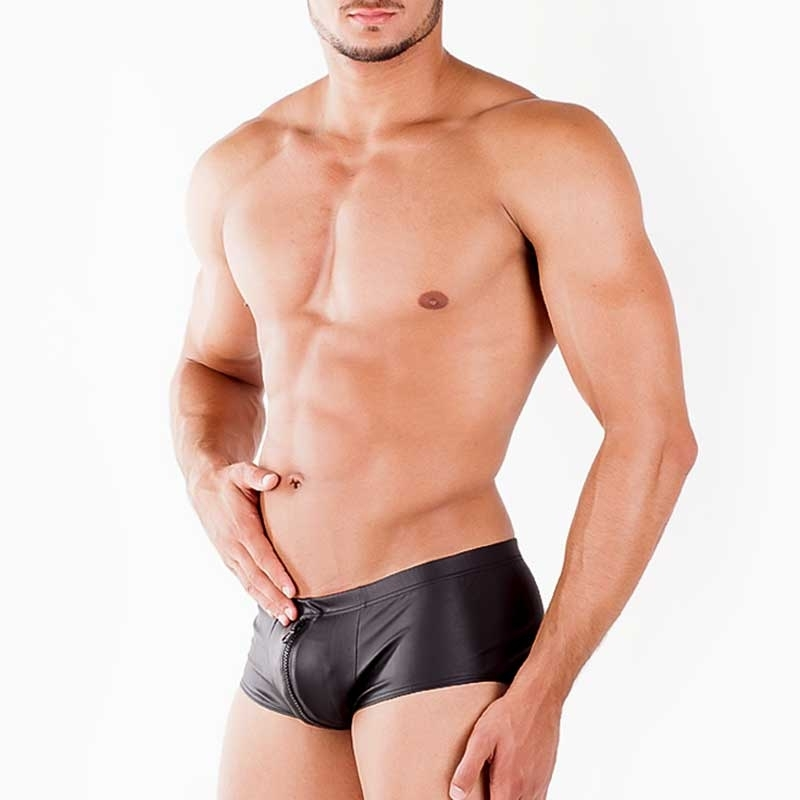 WAGNER Berlin wet PANTS hot Fit 172455 Reissverschluss black