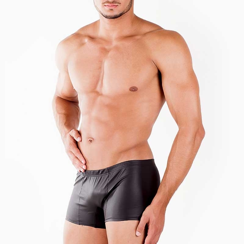 WAGNER Berlin SHORT hot WET-LOOK CORBINIAN Leder Optik WAB-172755 Fetisch Wear black