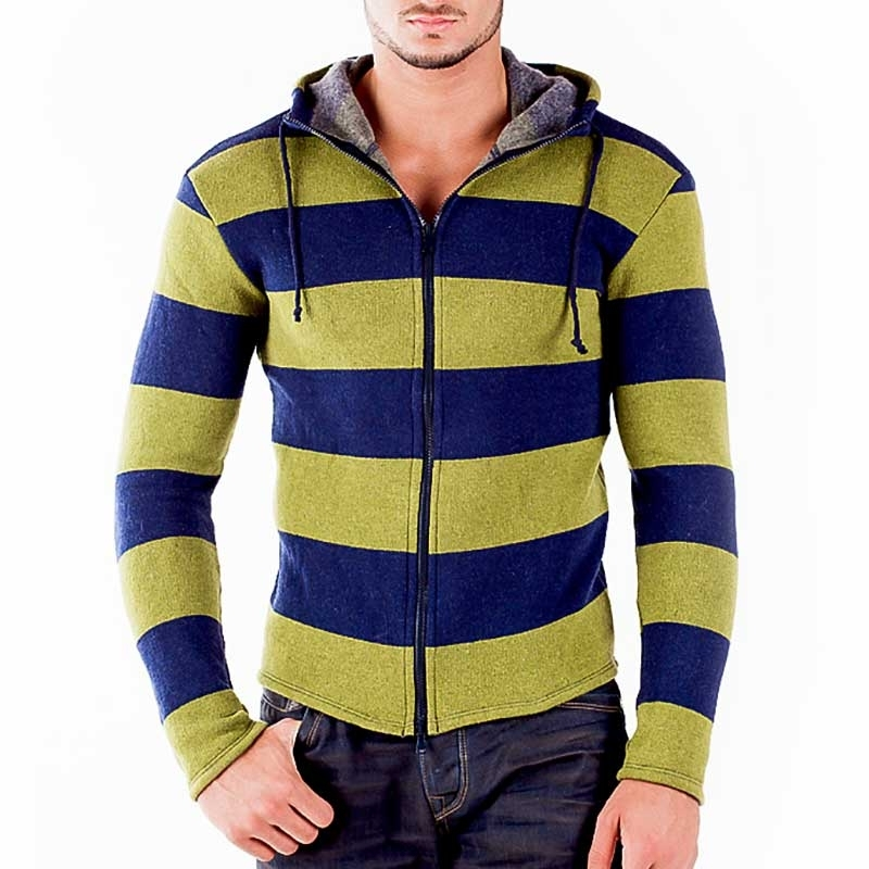 WAGNER Berlin 183038 CARDIGAN Striped Sweater Style