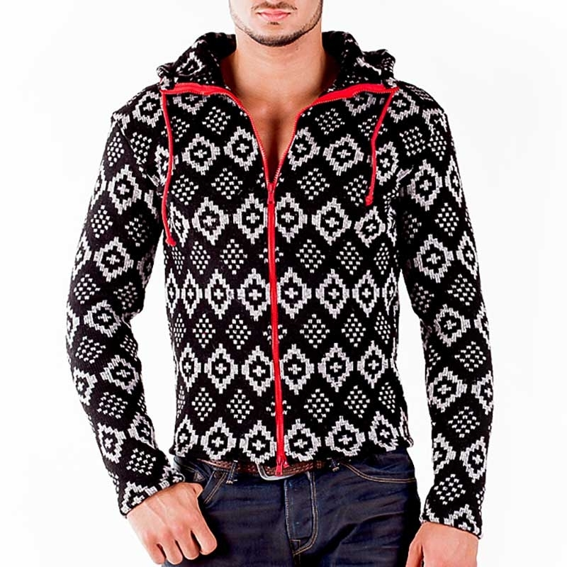WAGNER Berlin 184057 CARDIGAN Winter hood zipper