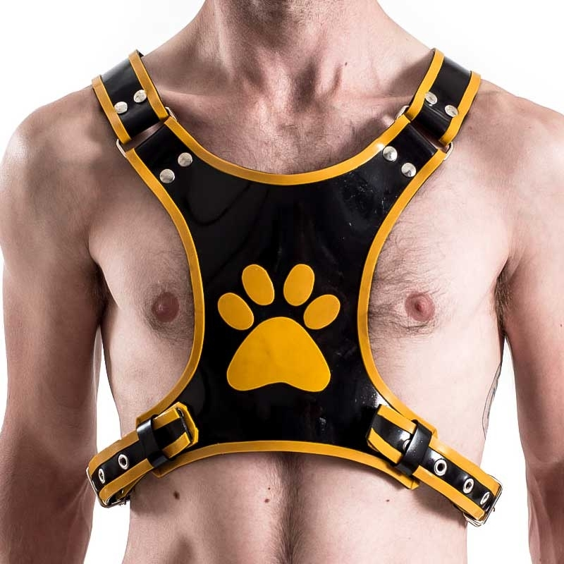 MISTER B RUBBER HARNESS 60140 puppy play