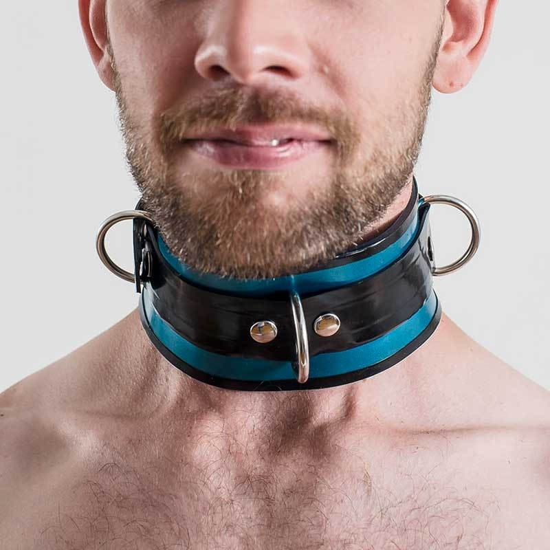 MISTER B RUBBER COLLAR 61131 lockable