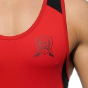 ADDICTED TANK TOP AD426 Athletischer Farbkontrast