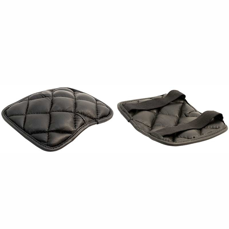 MISTER B LEATHER KNEEPADS 610520 quilted design