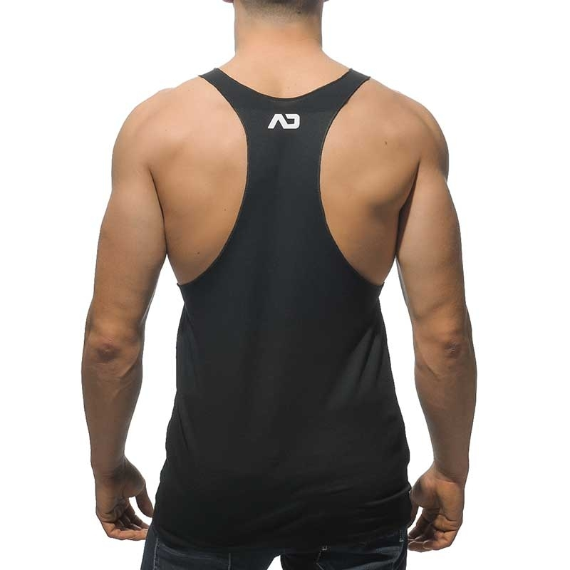 ADDICTED TANK TOP AD340 athletic cut in black