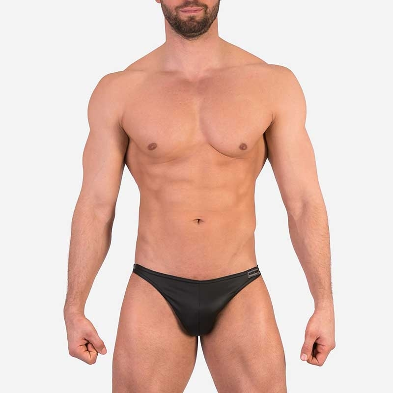 BARCODE Berlin BRIEF 91460 wet-look fabric