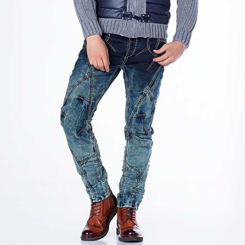 CIPO and BAXX JEANS CD289 with decorative stitching