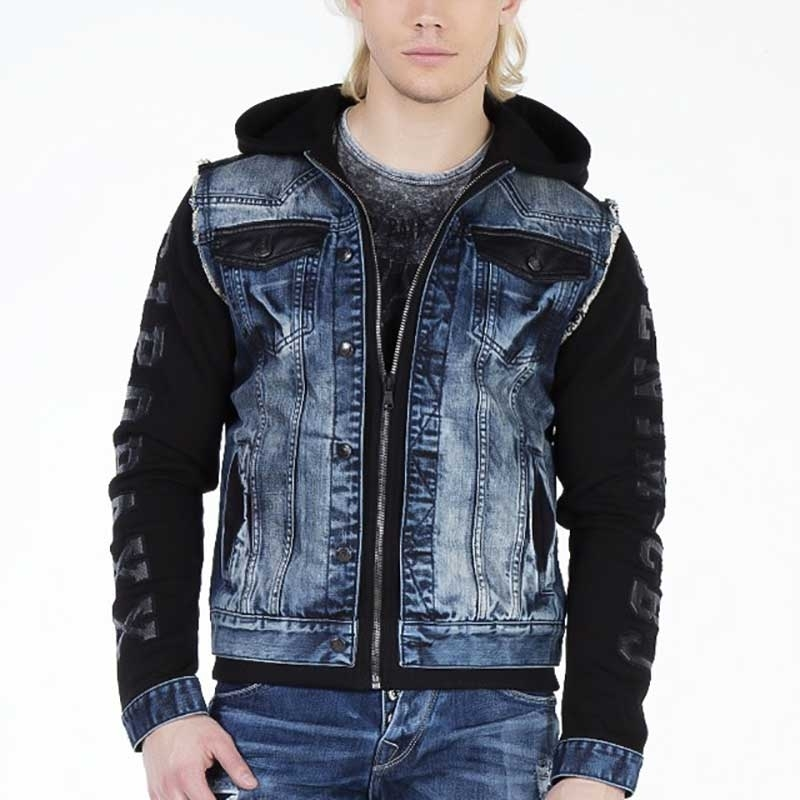 CIPO and BAXX JEANS JACKET CJ154 2 in 1 Design