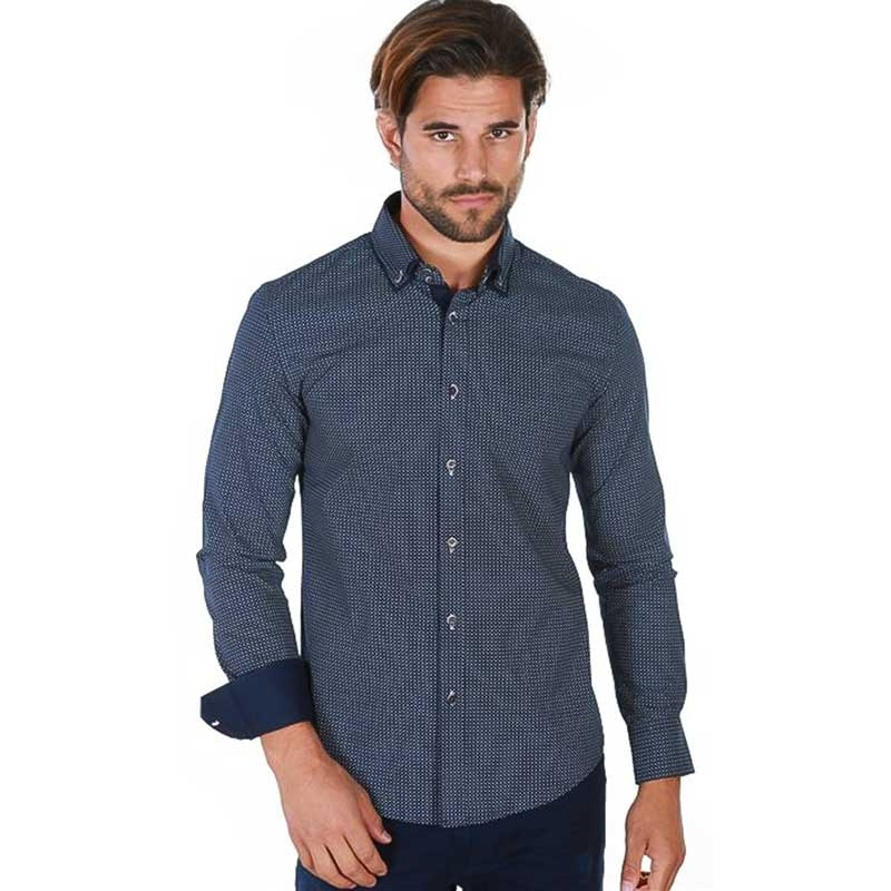 CARISMA DRESS SHIRT 8361 with a fine checkered pattern