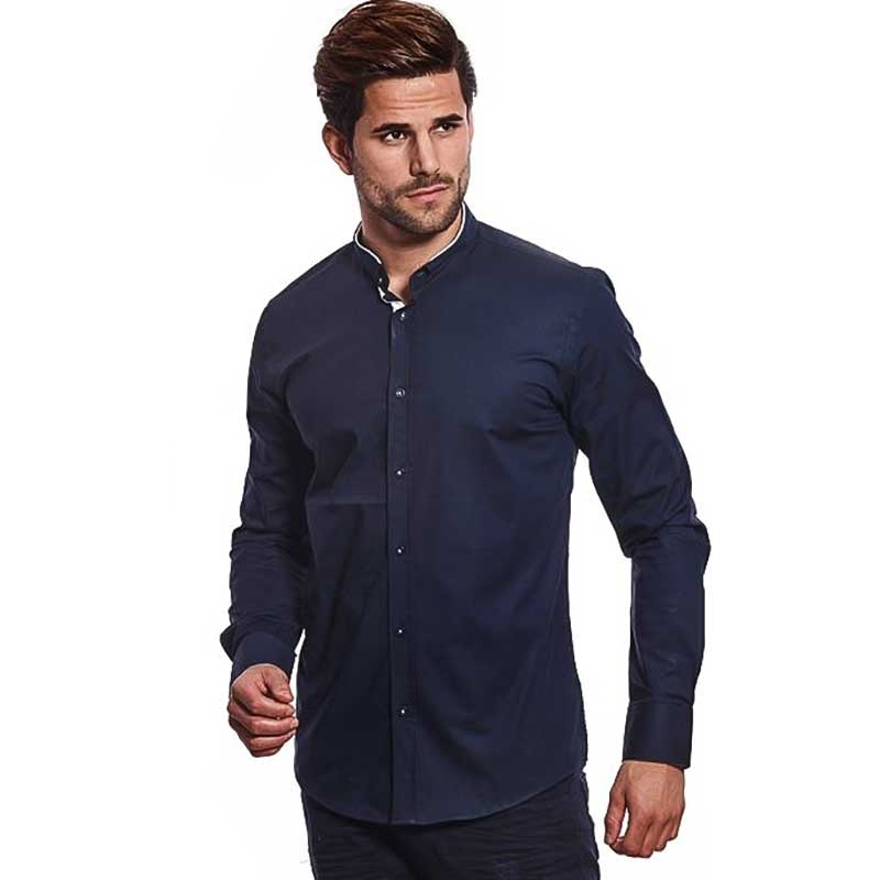 CARISMA DRESS SHIRT 8386 with a grandad collar