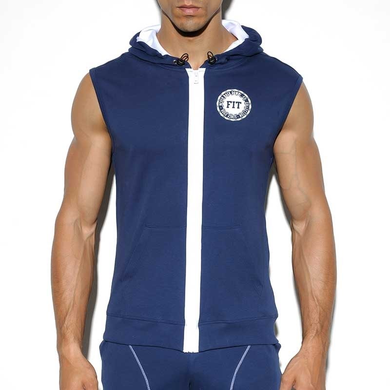 ES Collection HOODIE TANK SP159 Sportliche Trainingsweste