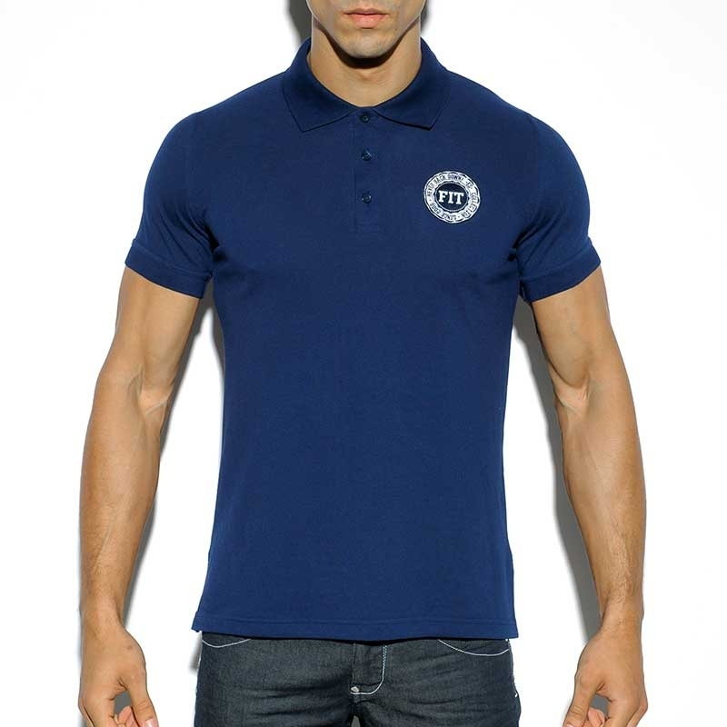 ES Collection POLOSHIRT POLO19 mit Button-Down Kragen