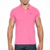 ES Collection POLOSHIRT POLO23 mit gebleichtem Vintage Look