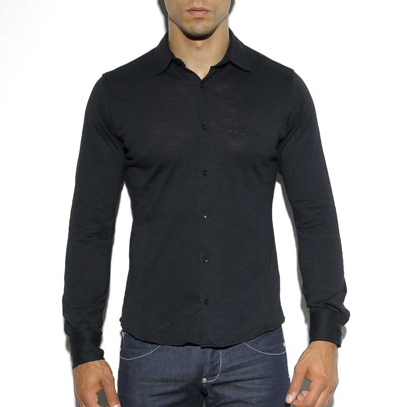 ES Collection DRESS SHIRT SHT016 A basic colored relaxed cut