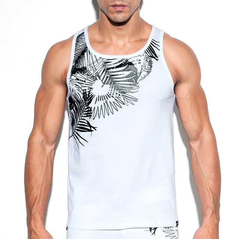 ES Collection TANK TOP TS212 with jungle print